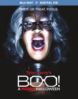 Boo! A Madea Halloween: Blu-ray + Digital HD combo pack cover art -- click to buy from Amazon.com