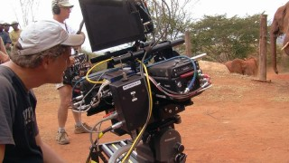 "See the bulky IMAX 3D camera in use in the behind-the-scenes webisode ""'Wild' Filmmaking."