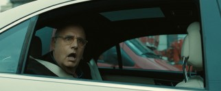 Bob (Jeffrey Tambor) cannot believe how his niece and his protégé are passing a traffic jam one lane over.