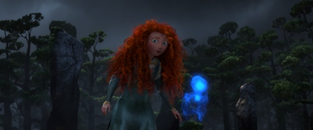 Merida follows a will-o'-the-wisp in a decision that will soon change her fate.