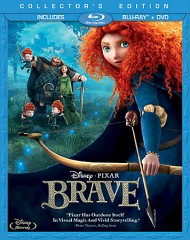 Brave Blu-ray + DVD cover art