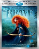 Brave: Ultimate Collector's Edition (Blu-ray + Blu-ray 3D + DVD + Digital Copy) combo pack cover art -- click to buy from Amazon.com
