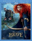 Brave: 3-Disc Collector's Edition Blu-ray + DVD cover art -- click for larger view