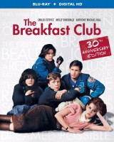 The Breakfast Club: 30th Anniversary Edition Blu-ray + Digital HD cover art -- click to buy from Amazon.com