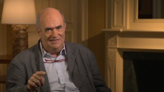 """Brooklyn"" author Colm Tóibín discusses the adaptation of his novel in a promotional featurette."