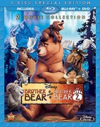 Brother Bear & Brother Bear 2: 3-Disc Special Edition 2 Movie Collection Blu-ray + DVD cover art -- click to buy from Amazon.com