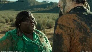Academy Award nominee Gabourey Sidibe shows up at the end of the extended version of the elephant sex scene.