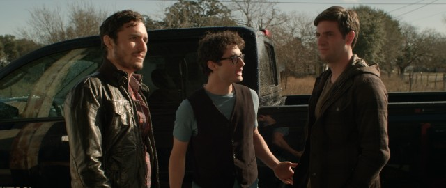 "What could go wrong when these three friends (Isaac Harrison, Dru Lockwood, and Matthew Albrecht) and a creepy cousin go off to rural Texas for a hunting trip in ""Buck Wild""?"