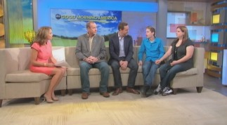 "Katie Couric interviews director Lee Hirsch and three of his subjects in this licensed ""Good Morning America"" clip."
