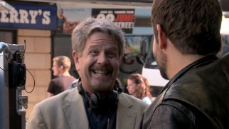 John Wells is happy to direct Bradley Cooper across the street from Ben & Jerry's and 22 Jump Street ads.