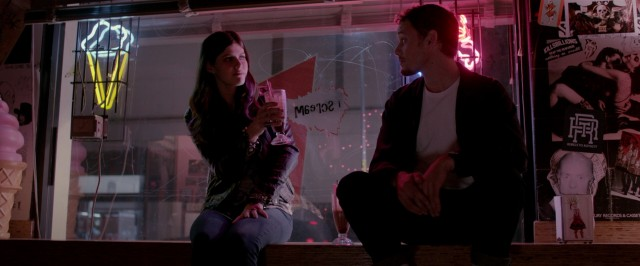 After Evelyn's death, Max (Anton Yelchin) learns he shares far more common interests with homemade ice cream shop owner Olivia (Alexandra Daddario).