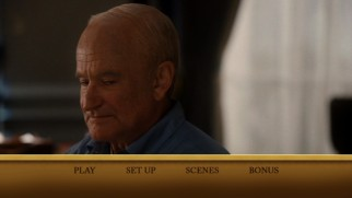 "Robin Williams appears as Dwight D. Eisenhower on the DVD's main menu for ""Lee Daniels' The Butler."" This marks Williams' third film portraying a President, but first not to be made out of wax."