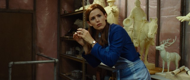 "Jennifer Garner plays Laura Pickler, a judgmental Iowa housewife who follows her husband's footsteps into the cutthroat world of butter carving in ""Butter"", the worst movie of 2012 that I've seen."