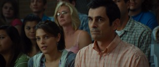 Kaitlen (Ashley Greene) and Bob (Ty Burrell) anxiously watch on as their mother and wife awaits judgment.