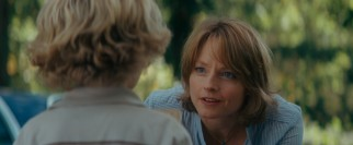 Director Jodie Foster also plays Walter's wife, who is understanding and forgiving as she recognizes the benefits of her husband's new behavior.