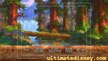 Brother Bear Disc 1 Main Menu