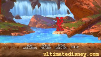 Brother Bear Disc 2 Main Menu