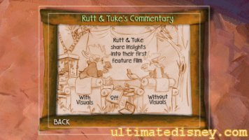 Rutt & Tuke's Commentary Menu