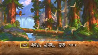 Brother Bear DVD Review Brother Bear Dvd Menu