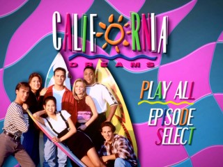 Mill Creek Entertainment does the 1990s proud with this lightly animated DVD main menu screen.