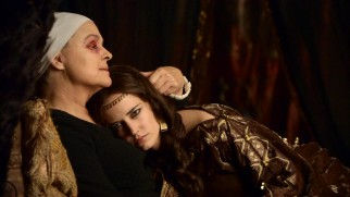 Morgan (Eva Green) accepts advice and affection from her old nun Cybil (Sinéad Cusack).