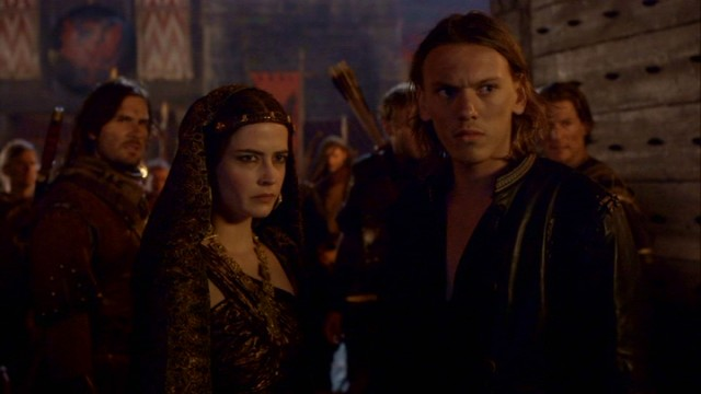"To sum up, ""Camelot"" tells the story of two Pendragons (Eva Green and Jamie Campbell Bower) both after the same throne."