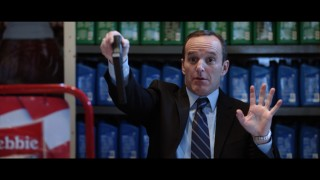 "Agent Coulson (Clark Gregg) doesn't want any trouble (or so he pretends) in the Marvel One-Shot ""A Funny Thing Happened on the Way to Thor's Hammer."""