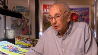 "At age 97, Captain America co-creator Joe Simon shares his unique perspective on the character in ""Captain America's Origin."""