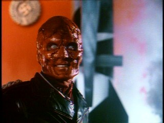 The Red Skull (Scott Paulin) is happy to see you at his reddest.