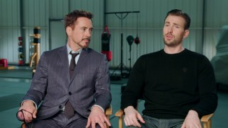 "Robert Downey Jr. and Chris Evans discuss their characters' roads to ""Civil War."""
