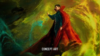 "Marvel flexes their huge marketing muscles with a ""Doctor Strange"" sneak peek fans will lap up."