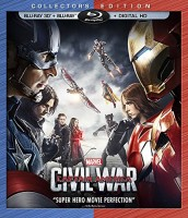 Captain America: Civil War Collector's Edition Blu-ray 3D + Blu-ray + Digital HD cover art -- click to buy from Amazon.com