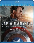 Captain America: The First Avenger Blu-ray 3D combo pack cover art -- click to read the press release