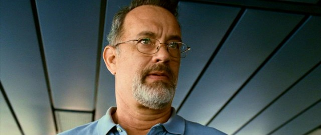 "Tom Hanks plays cargo ship captain Rich Phillips in ""Captain Phillips."""