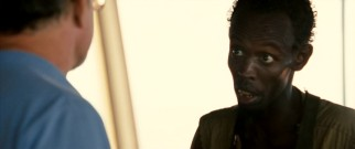 """I'm the captain now,"" proclaims head pirate Abduwali Muse (Barkhad Abdi)."