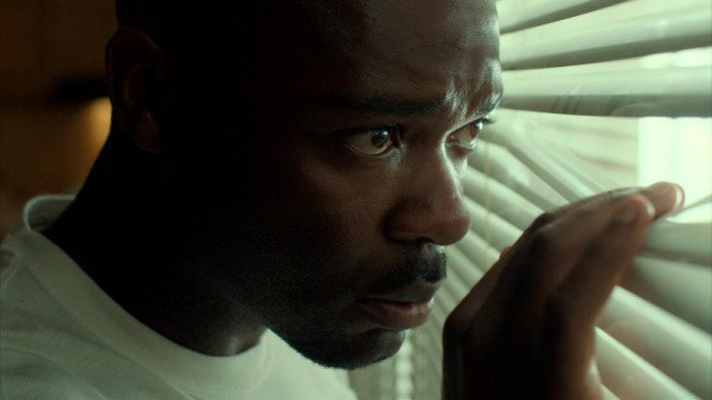 "Brian Nichols (David Oyelowo) sees police approaching, something he's already made peace with in ""Captive."""