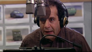 "Tony Shalhoub rocks the mic as the voice of Luigi in ""Animation and Acting."" Shalhoub!"