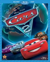 Cars 2 Blu-ray + DVD combo pack cover art -- click to buy from Amazon.com