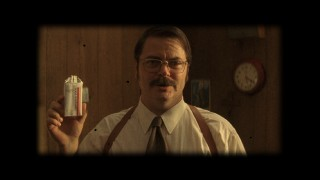 In character as DEA Agent Parker, Nick Offerman mildly endorses Champion 100 cigarettes in this promotional faux commercial.