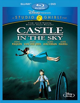 Castle in the Sky Blu-ray + DVD cover art -- click to buy from Amazon.com