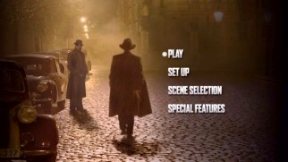 The Catcher Was a Spy's DVD basic main menu looks straight out of 1998.