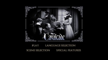 "The DVD's recycled main menu makes ""Cavalcade"" look like a silent film."