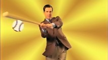 Ed Helms hits it out of the park in this low-grade commercial for Top Notch Insurance.