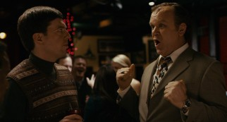 The antidote to milquetoast Tim (Ed Helms) is his vulgar loud-mouthed roommate, fellow Wisconsinite Dean Ziegler (John C. Reilly).