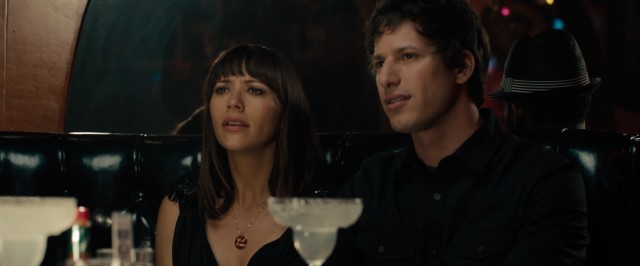 Celeste (Rashida Jones) and Jesse (Andy Samberg) don't understand why others are uncomfortable with their separate but close and very friendly relationship status.