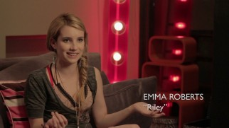 "Emma Roberts discusses ""The Making of 'Celeste & Jesse Forever'."""
