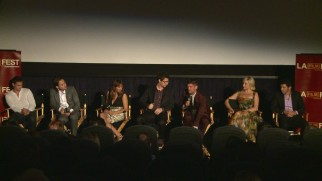 Cast and crew answer audience questions at the film's 2012 Los Angeles Film Festival premiere.