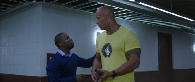 """Central Intelligence"" stars Kevin Hart and Dwayne Johnson as high school classmates who reunite amidst a crisis of national security."