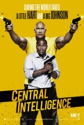 Central Intelligence (2016) movie poster