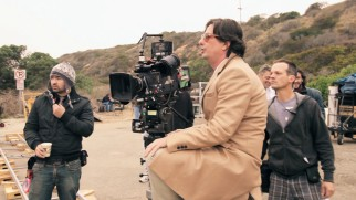 "Roman Coppola directs the film's ambitious closing scene on a beach in ""A Glimpse Behind the Glimpse."""